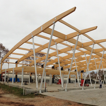 Lanik m xico nuestros productos madera laminada - Estructura madera laminada ...